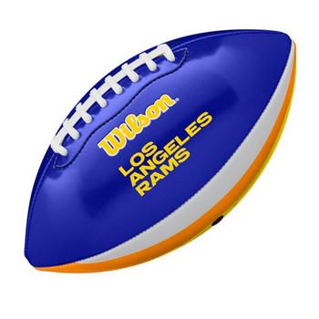 WILSON  NFL Los Angeles rams peewee [25cm] debossed american football