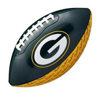 WILSON NFL green bay packers peewee [25cm] debossed american football