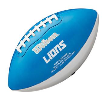 WILSON NFL detroit lions peewee [25cm] debossed american football