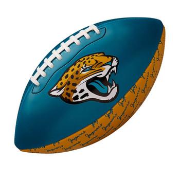 WILSON NFL jacksonville jaguars peewee [25cm] debossed american football
