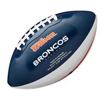 WILSON NFL denver broncos peewee [25cm] debossed american football