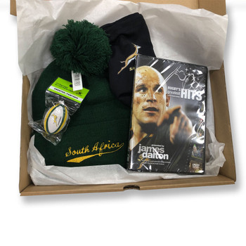 ORIGINAL Rugby South Africa Rugby Christmas Gift Box