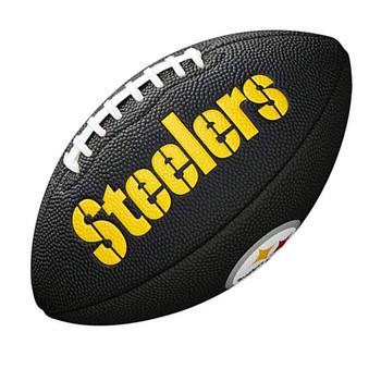 WILSON pittsburgh steelers NFL mini american football black