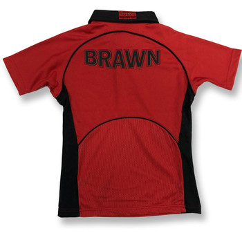 EGGCATCHER wales rugby training shirt [red/black]