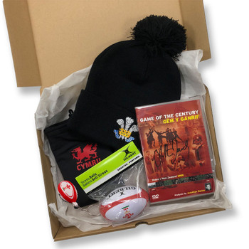 ORIGINAL Rugby Wales Christmas Gift Box (Ltd Edition)