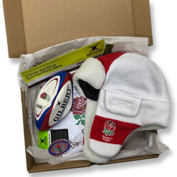 ORIGINAL Rugby England Junior Christmas Gift Box (Ltd Edition)