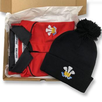ORIGINAL Rugby Senior Wales Shirt / Hat Christmas Gift Box (Ltd Edition)