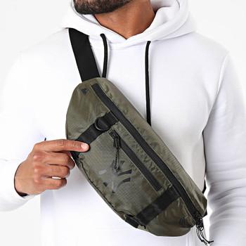 NEW ERA new york yankees MLB light waist bag [khaki green]