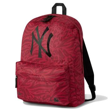NEW ERA New York Yankees MLB stadium backpack [red print]