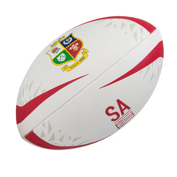CCC british and irish lions mentre sponsor rugby ball white [size 5]
