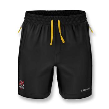 KUKRI ulster rugby mens gym shorts  [black/sunset]