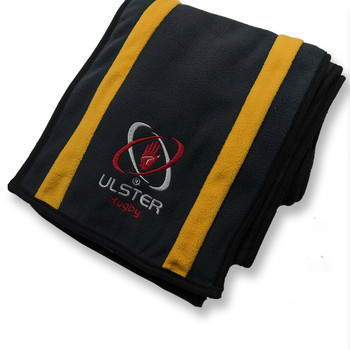 KUKRI ulster rugby fleece scarf V1 [charcoal/sunset]