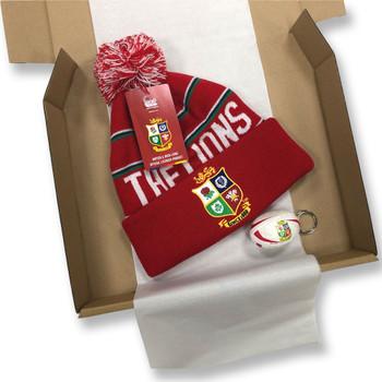 ORIGINAL Rugby British & Irish Lions Christmas Gift Box (Ltd Edition) [red]