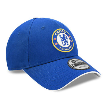 NEW ERA Chelsea FC Crest 9Forty adjustable Cap [royal blue]
