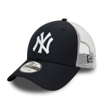 NEW ERA new york yankees MLB 9forty adjustable trucker baseball cap [navy/wht]