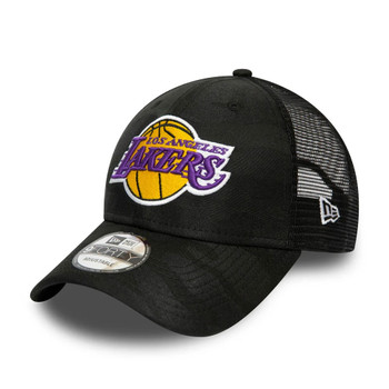 NEW ERA los angeles lakers NBA adjustable trucker cap [black]