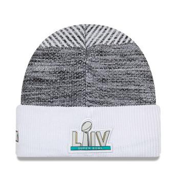 NEW ERA kansas city chiefs NFL Super Bowl beanie hat [white/grey]