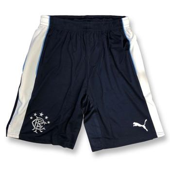 PUMA glasgow rangers replica football training shorts [navy]