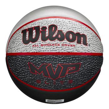 WILSON MVP elite basketball [red/grey/black]-Size 7