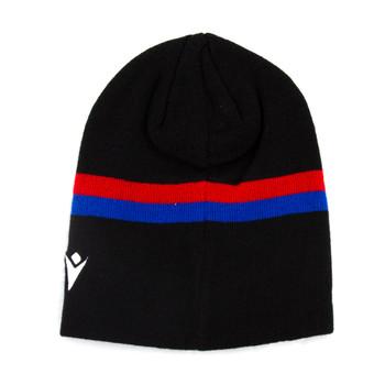 MACRON bath rugby acrylic beanie hat [blk/royal/red]