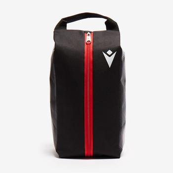 MACRON wales rugby (WRU) bootbag [black]