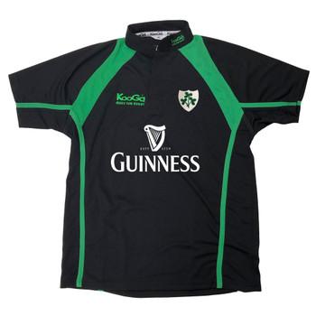 KOOGA ireland rugby supporter rugby shirt [black/green]
