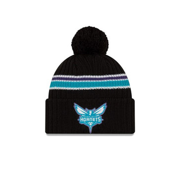 NEW ERA charlotte hornets Knit beanie [black]