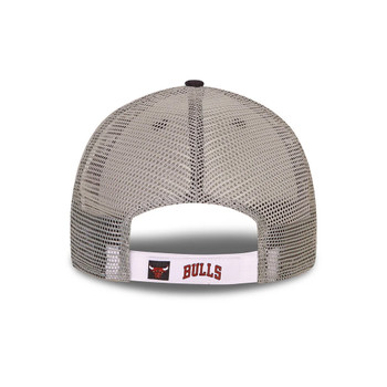 NEW ERA chicago bulls NBA Home Field 9forty trucker cap [black]