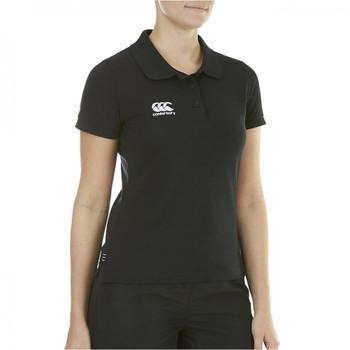 CCC woman's waimak polo shirt [black]