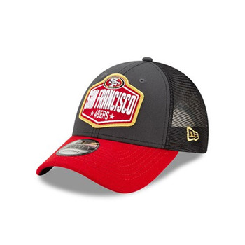 NEW ERA san francisco 49ers NFL 9forty Draft cap [red/grey}