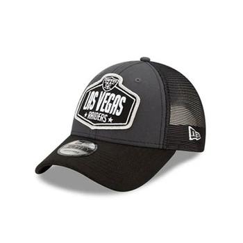 NEW ERA las vegas raiders NFL 9Forty Draft cap [black/grey}