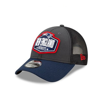 NEW ERA New England Patriots NFL Draft 9Forty [white/blue/red/grey}