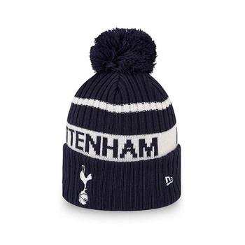 NEW ERA tottenham hotspur Wordmark bobble knit hat [navy]