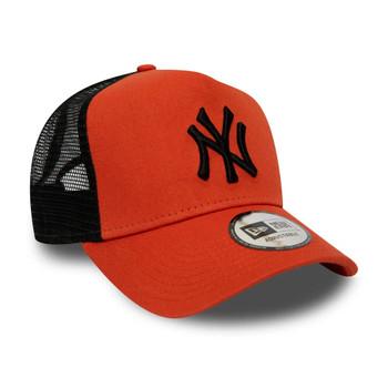 NEW ERA new york yankees MLB trucker baseball cap [orange/black]