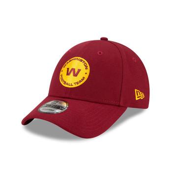 NEW ERA Washington Football Team 9Forty Adjutable cap [burgundy/yellow]