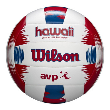 WILSON AVP hawaii outdoor/beach volleyball kit [white/red/blue]