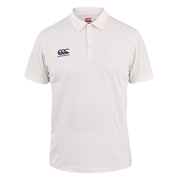 CCC Cricket short sleeve shirt [cream]