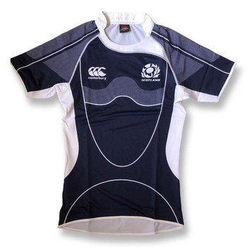 CCC scotland elite sublimate players rugby training jersey [navy]