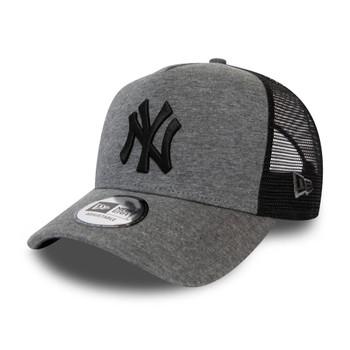 NEW ERA new york yankees MLB 9forty A-frame trucker baseball cap [grey/black]