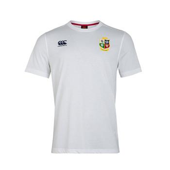 CCC british and irish lions Mens cotton jersey tee [white]