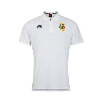 CCC british and irish lions rugby cotton pique polo [white]