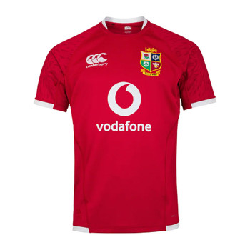 CCC british and irish lions SA tour pro rugby jersey [red]