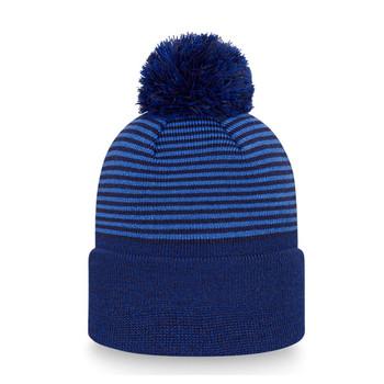 NEW ERA tottenham hotspurs football stripe bobble hat [blue]