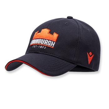 MACRON edinburgh rugby cap [navy/orange]