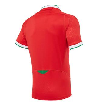 MACRON wales rugby (WRU) home replica shirt [red]