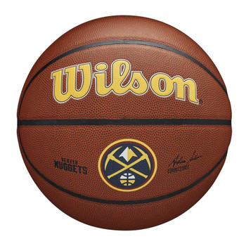 WILSON Team Alliance NBA Basketball Denver Nuggets [brown]
