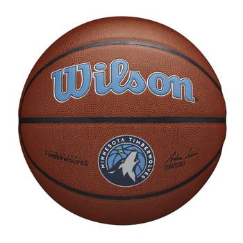 WILSON Team Alliance NBA Basketball Minnesota Timberwolves [brown]