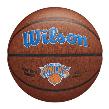 WILSON Team Alliance NBA Basketball New York Knicks [brown]