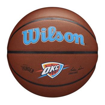 WILSON Team Alliance NBA Basketball Oklahoma City Thunder [brown]