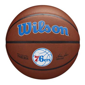 WILSON Team Alliance NBA Philadelphia 76ers [brown]